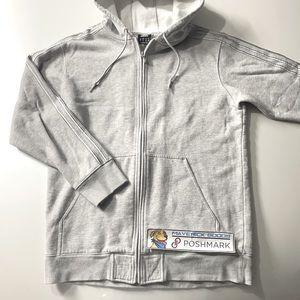 Adidas 3-Stripe Full-Zip Hoodie